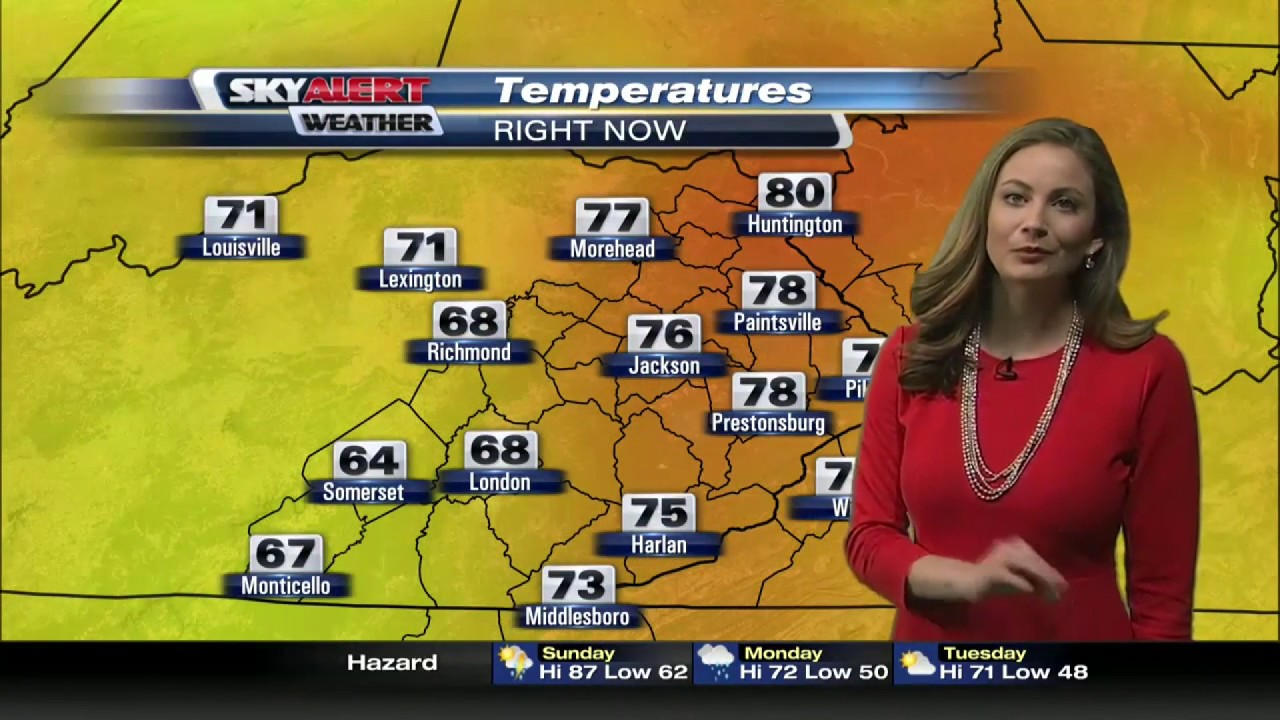 meteorologist allison rogers resume reel