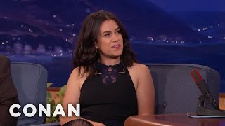 "Abbi Jacobson & Ilana Glazer Started 'Broad City"" To Impress Their Parents  - CONAN on TBS"