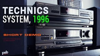 Stereo System with Technics Components, 1996