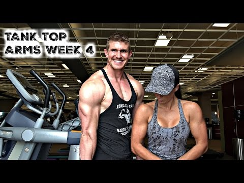Tank Top Arms Week 4 | The Best Way To Cook Chicken/Turkey