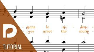 Improvements to Lyrics | New Features in Dorico Pro 3