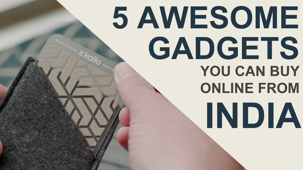 5 Really Cool And Awesome Gadgets You Can Buy Online From India   Desi Bit Exclusive