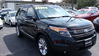 2014 Ford Explorer Limited 4WD Walkaround, Start up, Tour and Overview
