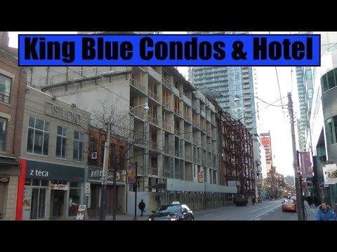 King Blue Condos & Hotel - Toronto's Entertainment District