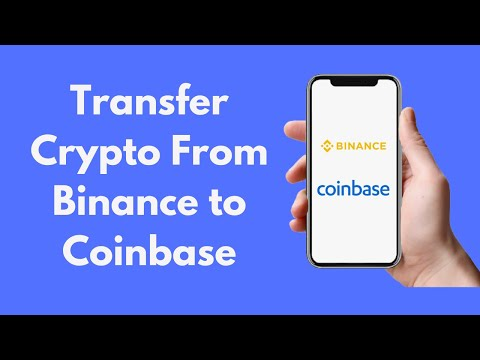 How To Transfer Crypto From Binance To Coinbase (2021) | CryptoCurrency Tutorial