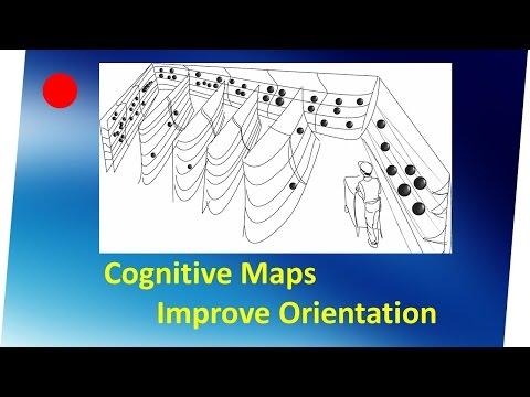 Cognitive maps improve shopper orientation