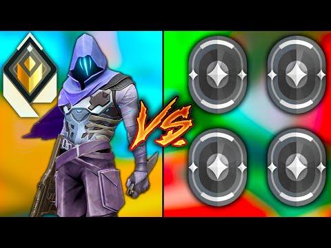 Valorant: 1 Radiant Omen GOD VS 4 Iron Players! - Who Wins?