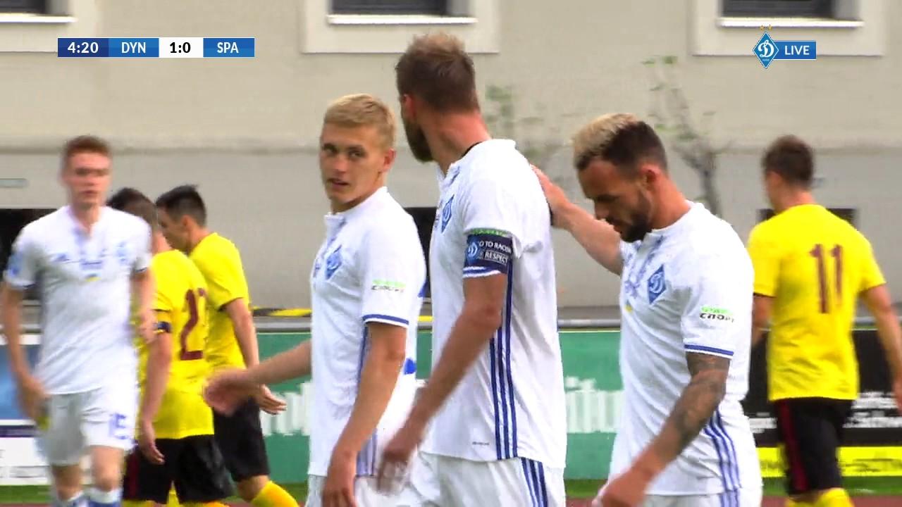 Динамо Киев - Спарта 4:1 видео