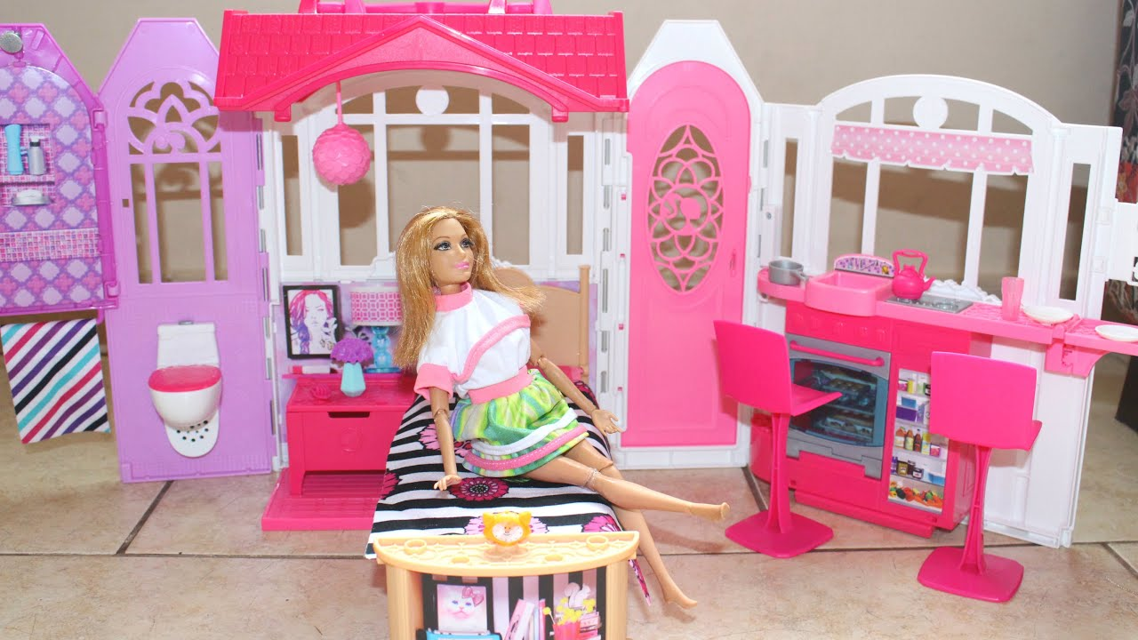 Casa da barbie recebidos da caixa postal 1 youtube - Casa de barbie ...