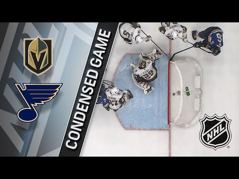 01/04/18 Condensed Game: Golden Knights @ Blues
