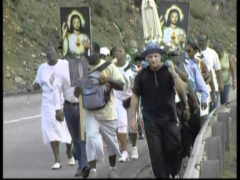 Penitential march 15 August St Maarten  / St Martin Antilles (2008) PART 1/2