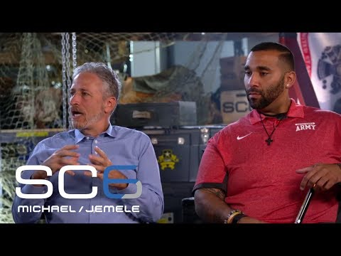 Choppin' It Up With Jon Stewart And Sergeant Christopher Mcginnis | SC6 | June 19, 2017