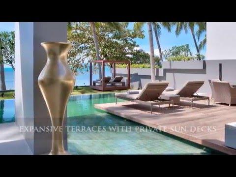 Koh Samui Luxury Beachfront Villas for Sale in Laem Noi
