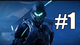 Halo 5 Guardians Gameplay Playthrough #1 - Osiris (Xbox One)