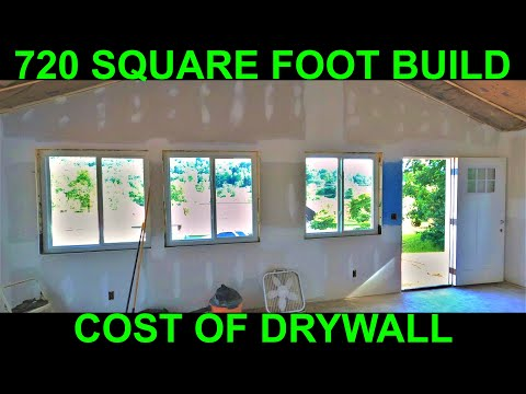 New affordable house drywall price