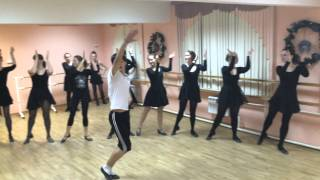 Репетиция Татарского танца ансамбля