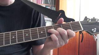 Roxette - Listen To Your Heart (guitar chords tabs cover (FullHD)