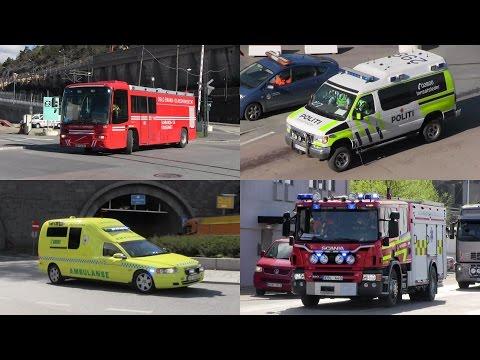 Explosion + Gefahrgutunfall im Containerterminal Oslo / Hazmat accident in Oslo at HarbourEx15harbor