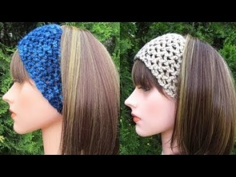 How To Crochet A Headband Pattern 127by Thepatternfamily Youtube