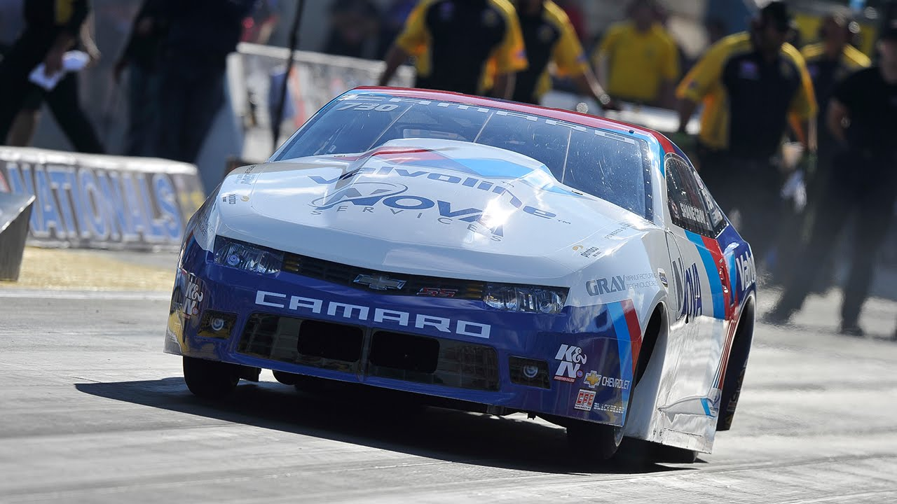 Shane Gray Powers To The Lead At The K N Filters Route 66 Nhra