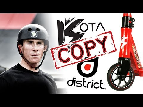 KOTA SCHUETZ vs DISTRICT PRO SCOOTERS, Tanner Fox Exposed Diss Track?!