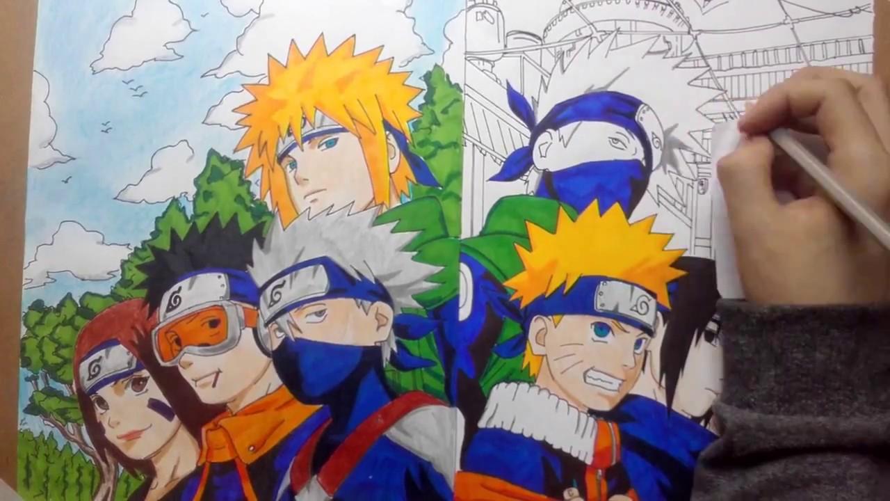 Team Minato & Team...