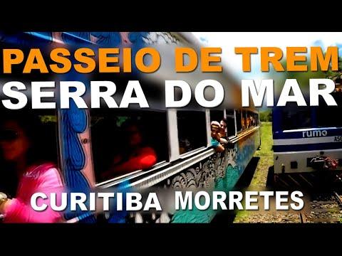 Passeio de Trem Curitiba Morretes - Paraná - Serra Verde Express - Turismo no Brasil