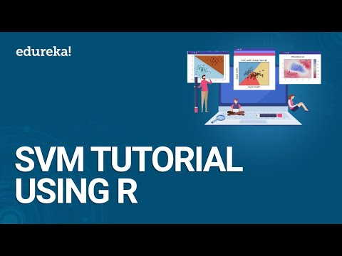 Support Vector Machine Tutorial Using R | SVM Algorithm Explained | Data Science Training | Edureka