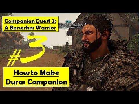 Elex - A Berserker Warrior   How to Make Duras Companion, Complete Circumstantial Evidence