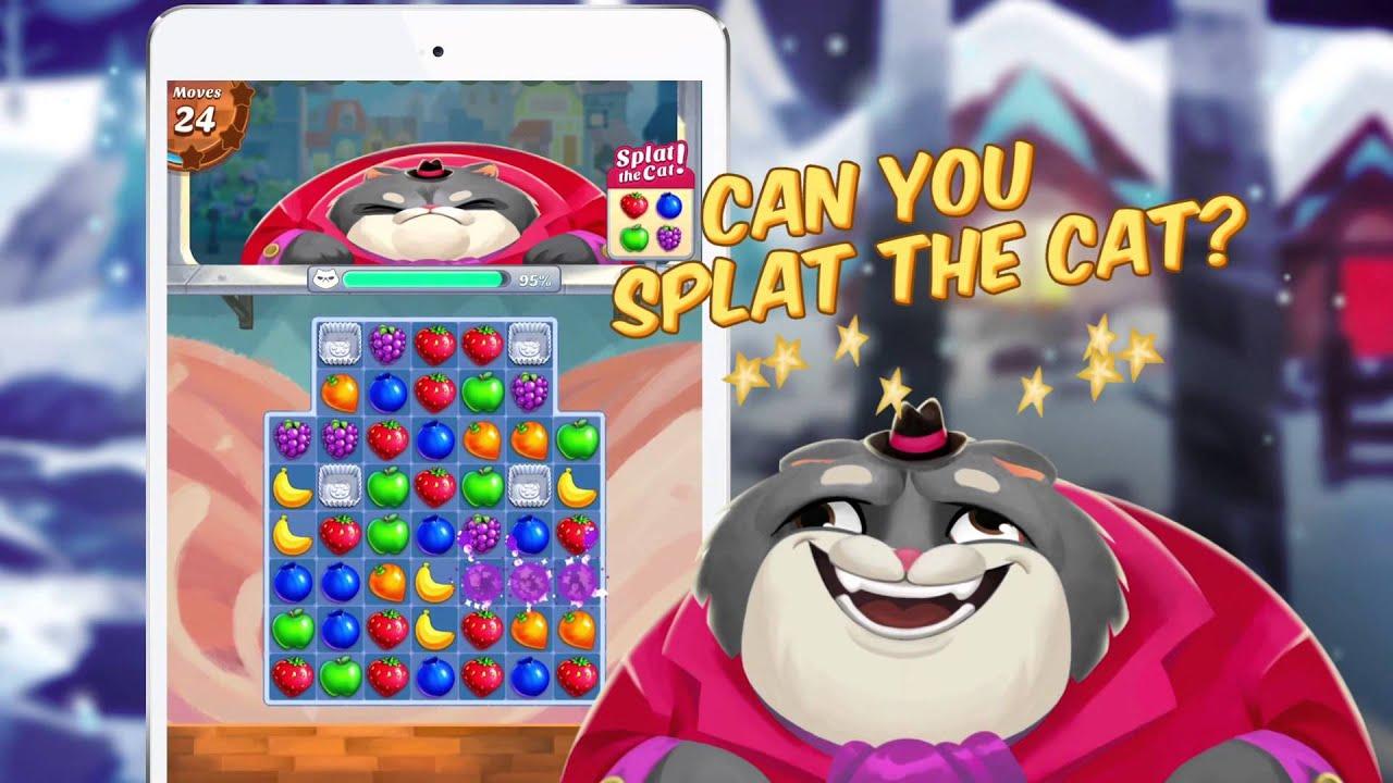 Fruit jam game - Can You Splat The Cat Juice Jam