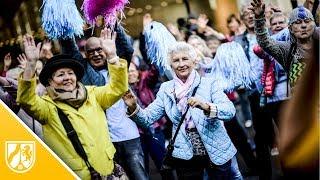 Dritter Senioren-Flashmob der Stadt Düsseldorf