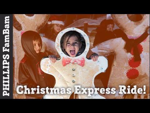 GREAT WAY TO START CHRISTMAS | POLAR EXPRESS TRAIN RIDE | PHILLIPS FamBam Vlogs