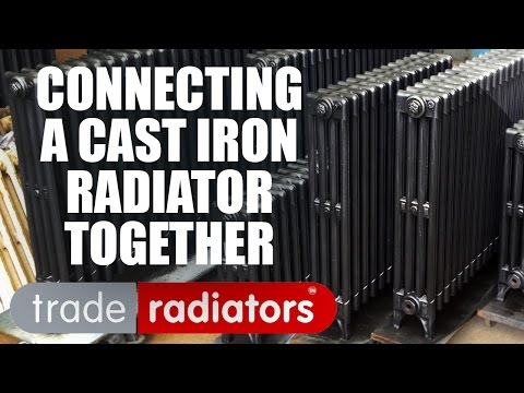 Connecting A Radiator Together