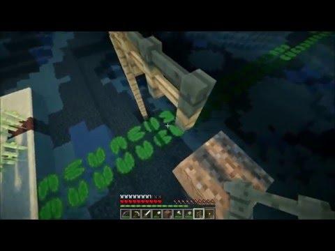 Смотреть прохождение игры Minecraft Big Trees Adventure. Серия 6 - строим мост.