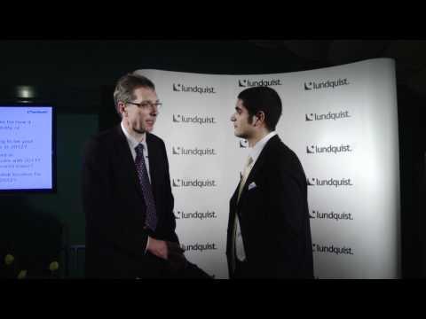 Interview with Winfried Haeser, Deutsche Post DHL - Lundquist CSR Online Awards 2011