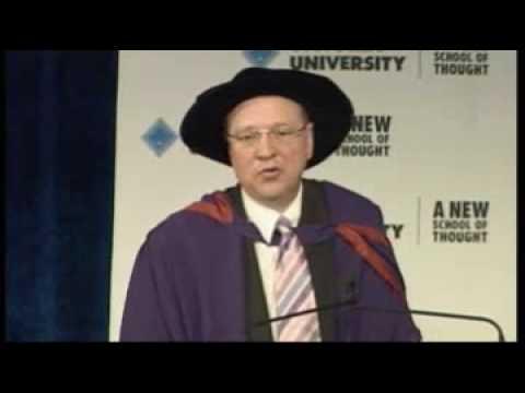 Professor Peter Dawkins - VU Occasional Address - 23 October 2008