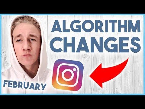 😬 INSTAGRAM ALGORITHM UPDATES - FEBRUARY 2018 (MUST WATCH) 😬