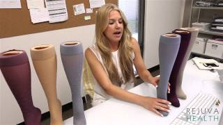 How to wear compression stockings in hot weather. Best summer selections.