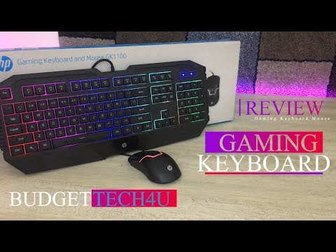 Gaming Keyboard From HP In Budget | Budget Tech4u