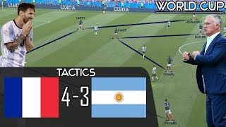 How France Tactically Outclassed Messi's Argentina in the World Cup - France 4-3 Argentina: Tactics
