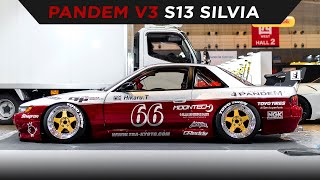 homepage tile video photo for PANDEM S13 SILVIA | TOYO TIRES | [4K60]