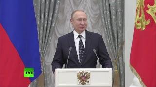 Путин вручает госнаграды победителям и призёрам Паралимпиады в Пхёнчхане