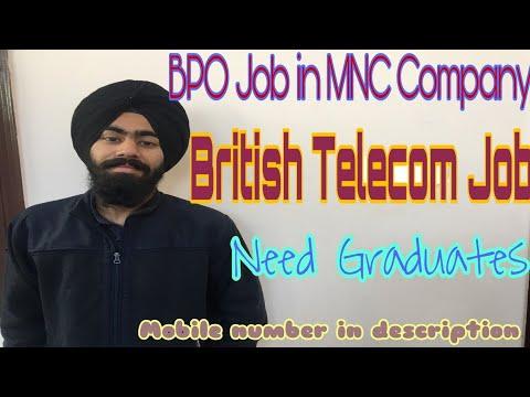 British Telecom Job Hiring, Qualification & Salary In Delhi NCR