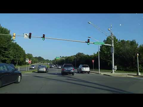 Driving from Gaithersburg to Rockville,Maryland
