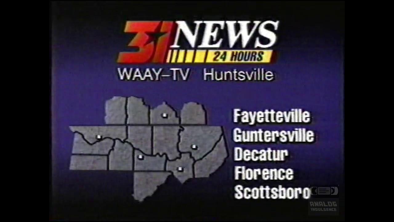 WAAY 31 | Ident | Huntsville Alabama | 1996