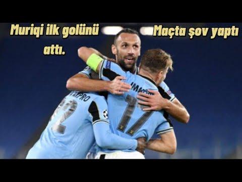 Vedat Muriqi ilk golünü attı. Lazio - Parma maç özeti.