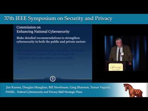 NITRD Panel: Federal Cybersecurity and Privacy R&D Strategic Plans