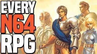 Ogre Battle 64: Person of Lordly Caliber - Every Nintendo 64 RPG Part 4 - Casp