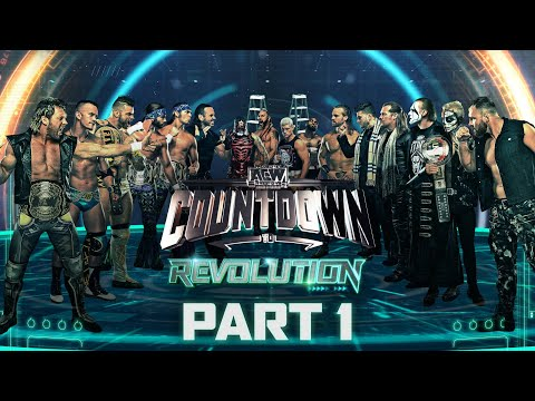 Why is Everyone Talking About AEW Revolution? Why is Sting in AEW? | Countdown to Revolution Part 1