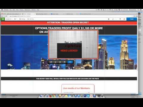 Designing landing page for Safe Trader App - YouTube